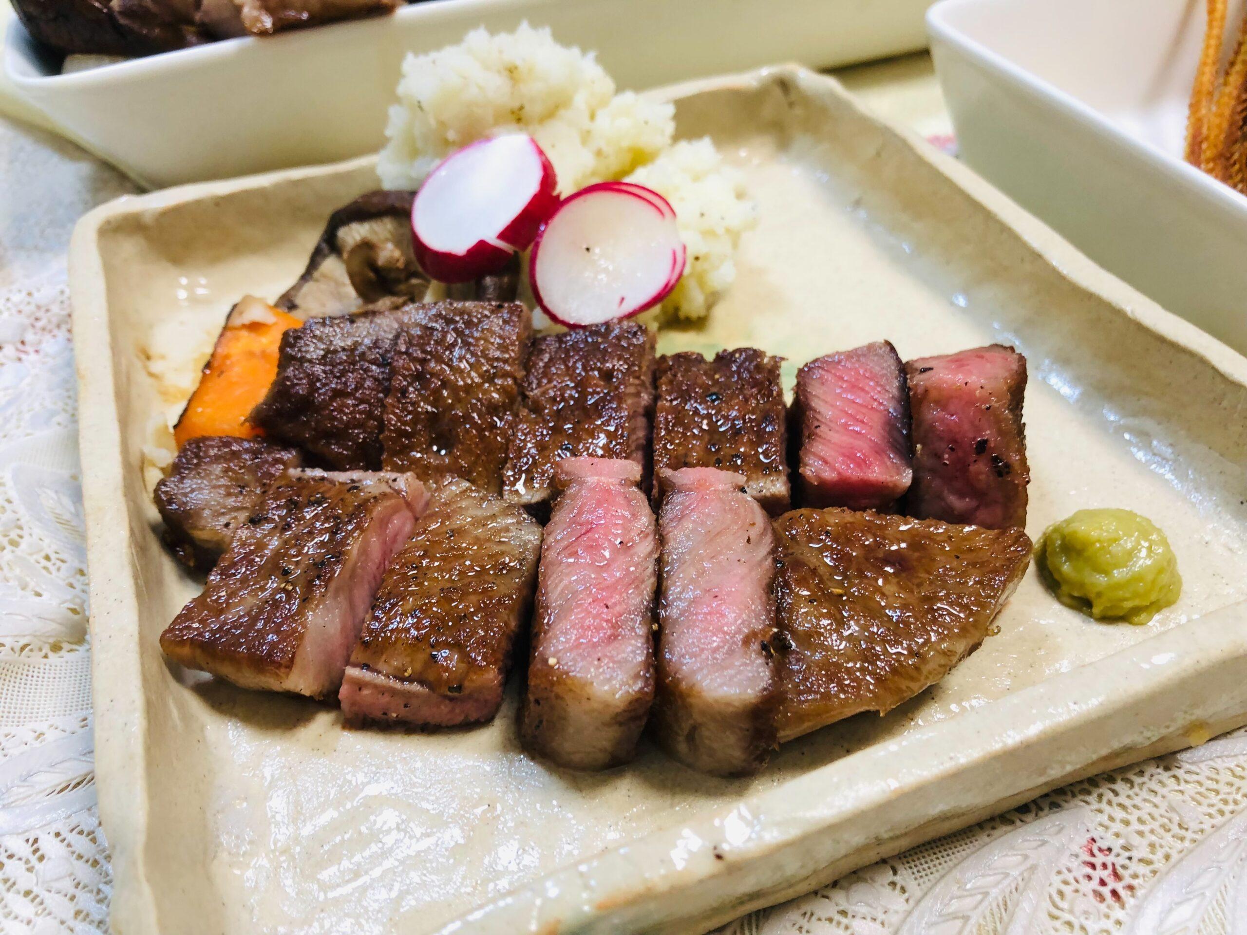 金曜日は肉の日と北海道じゃがマッシュ