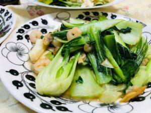 青梗菜炒め